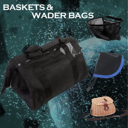 BASKETS & WADER BAGS (6)