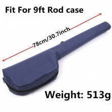 Triangle Rod Case 78cm/30.7 inch For 9ft Fly Fishing Cordura Rod Storage
