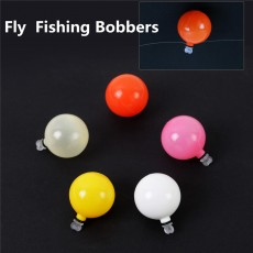 .5pcs 0.75/1 inch Fly Fishing Strike Indicators Fishing Float Bobbers