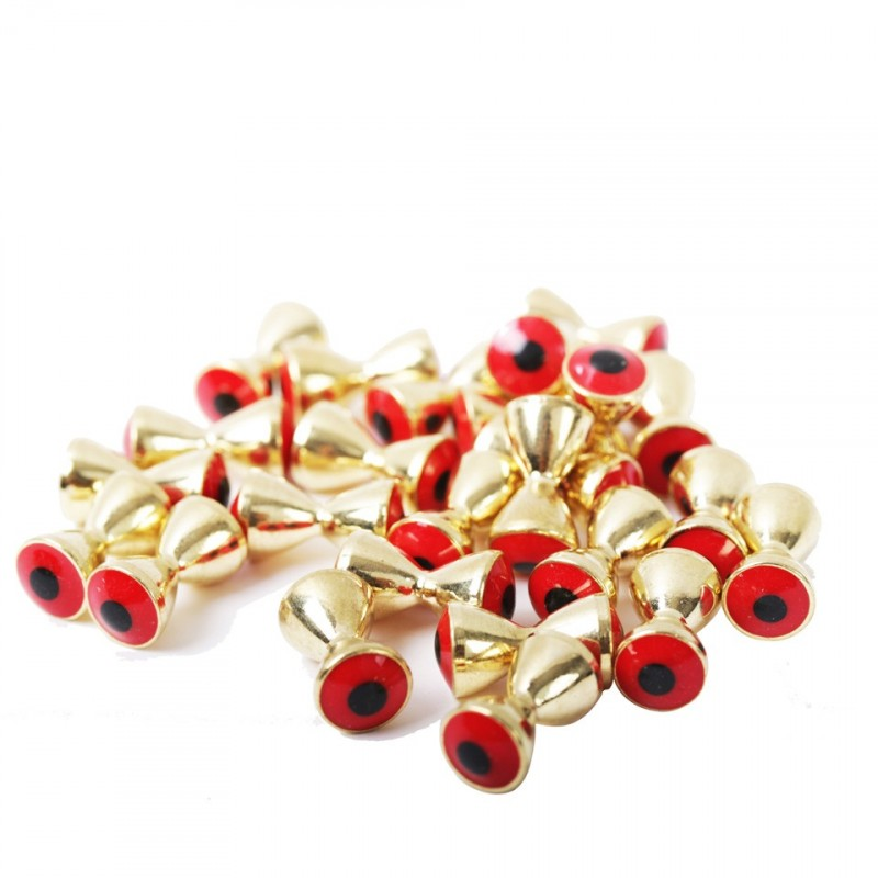 Red & Gold 6.3mm +$2.00