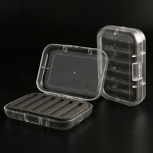 125*88*34mm CBT Top Quality Plastic With Transparent Swingleaf Fly Fishing Box