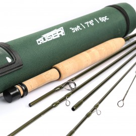 Cruiser IM10 Traveler 6Pcs Portable Fly Rod