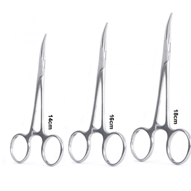 Curved Hemostats Fly Fishing Tool Forceps Flies Remover