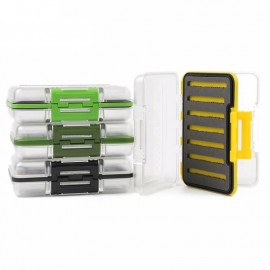Double Side Slit Foam Insert Fishing Tackle Waterproof Case
