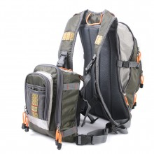 Fly Fishing Backpack with Tackle Chest Pack