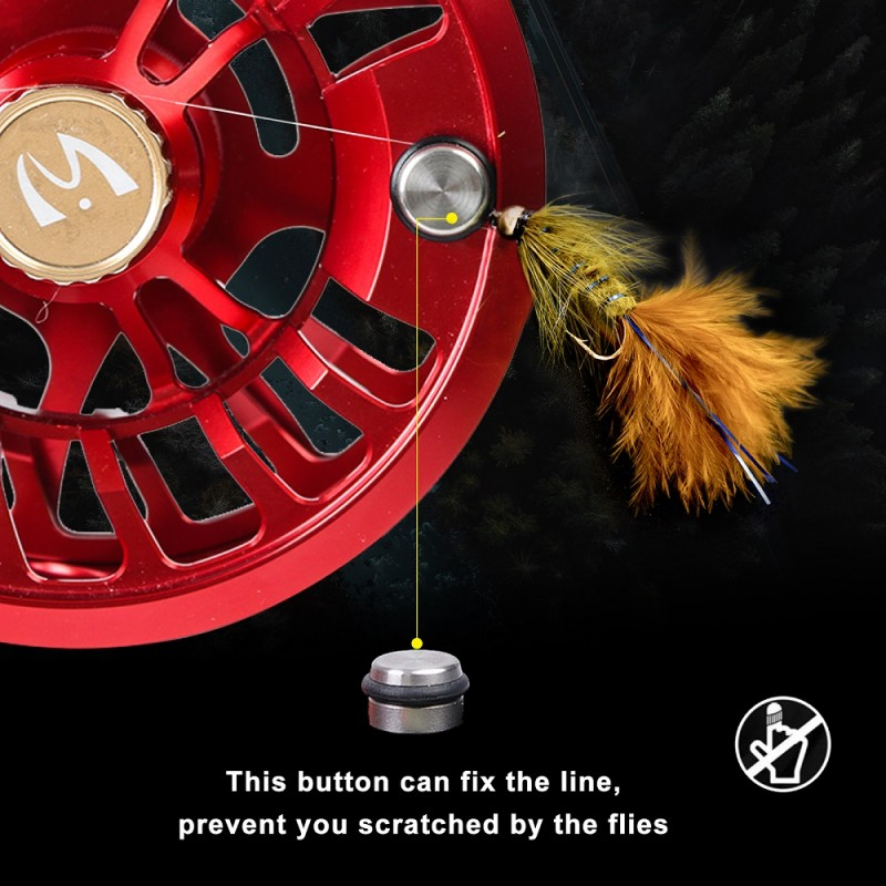 Dunn Ultralite MAXSDS Fly Reel