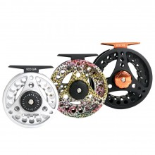 [Clearance ] ECO CNC Black Large Arbor Fly Reel