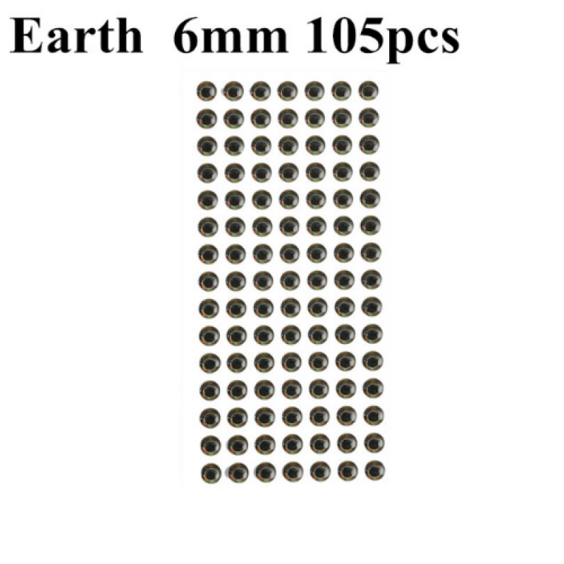 Earth 6mm 105pcs