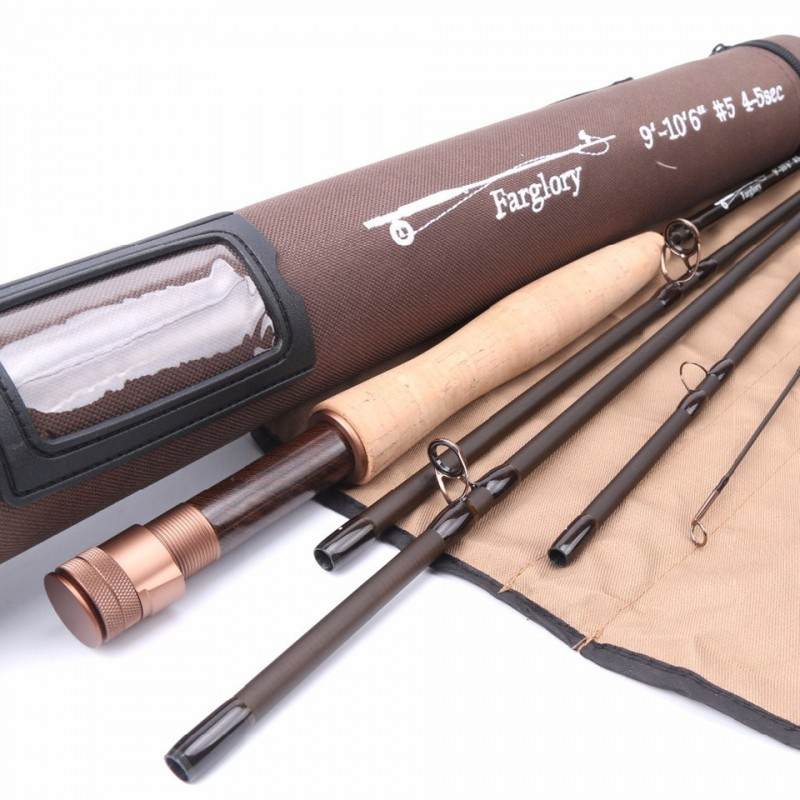 "Farglory 9'-10'6""5-5sec Fly Rod"