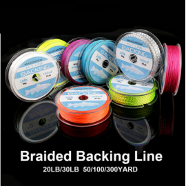 20LB100Yard Braided Backing