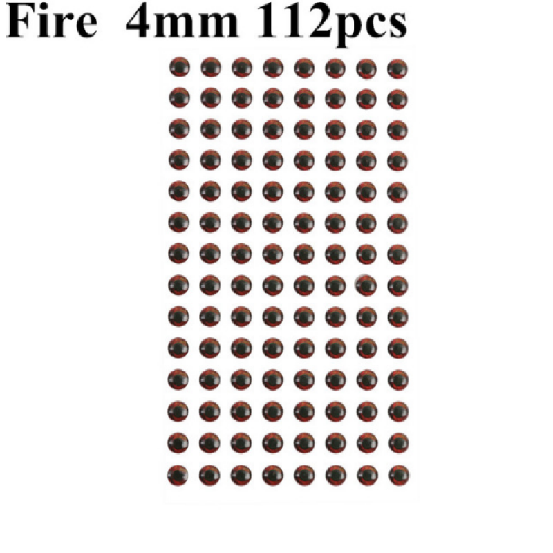 Fire 4mm 112pcs