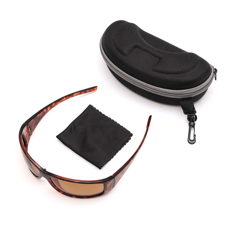 Tortoise Frame Fly Fishing Polarized Sunglasses