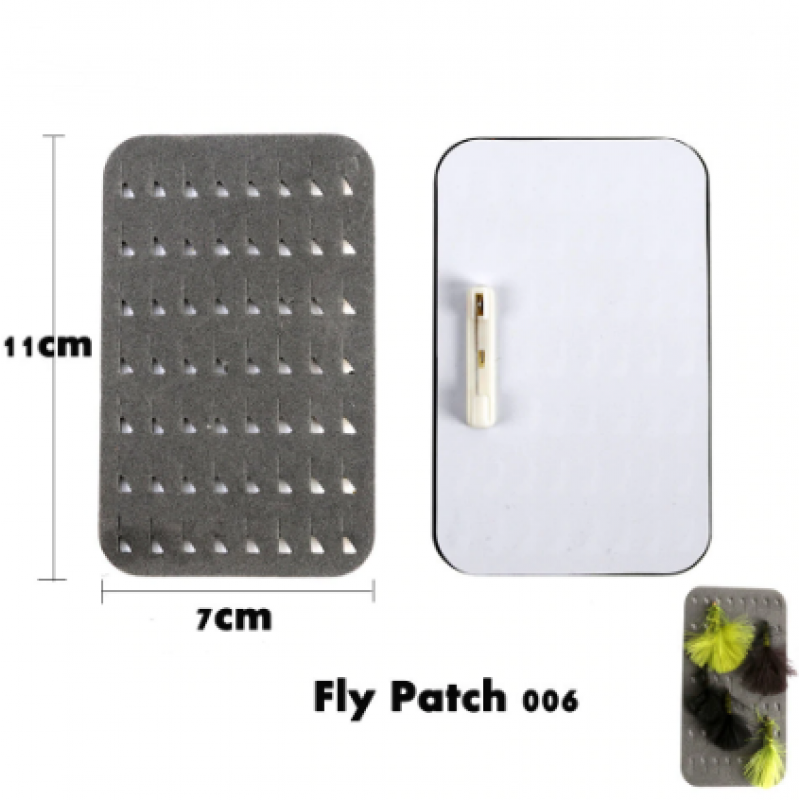 Ripple Foam Fly Patch Fly Tool
