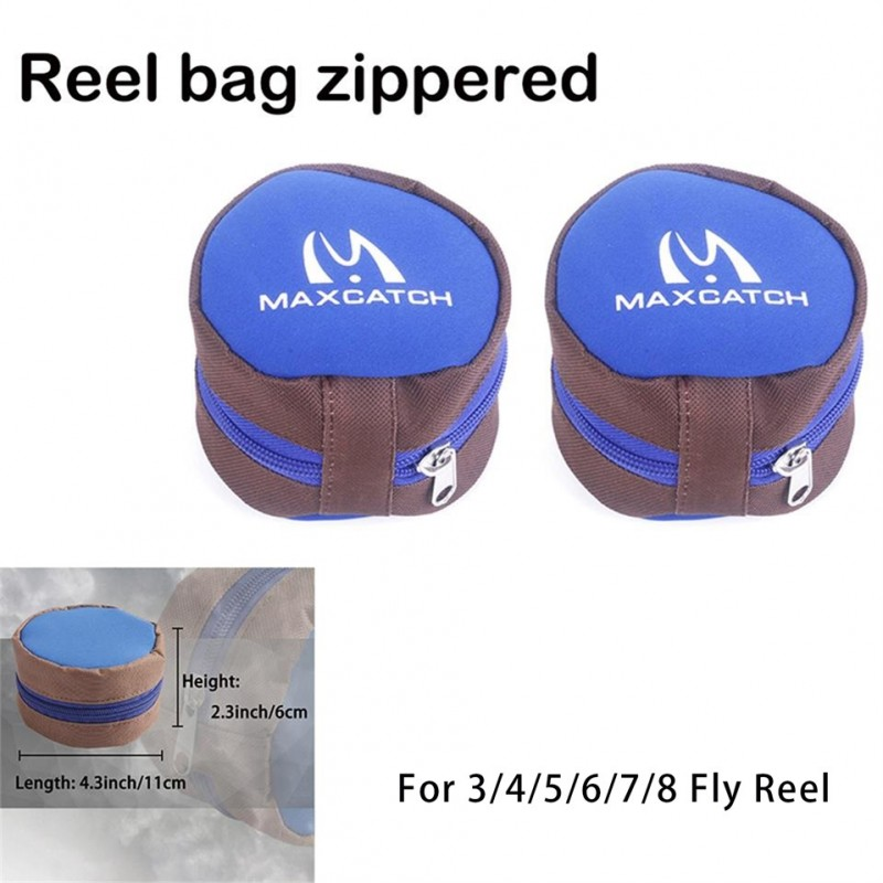 Fly Reel Protective Fly Reel Pouch Covers--5/7/9WT Fly Reel