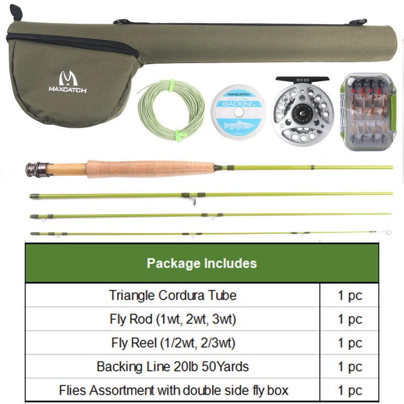 Small Stream Fly Rod Outfit