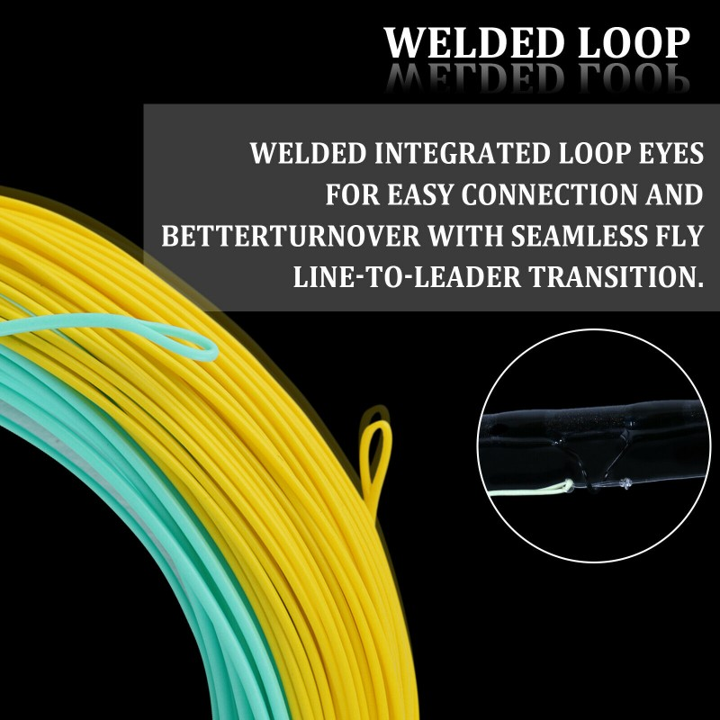 General Purpose Saltwater Fly Line With Welded Loops