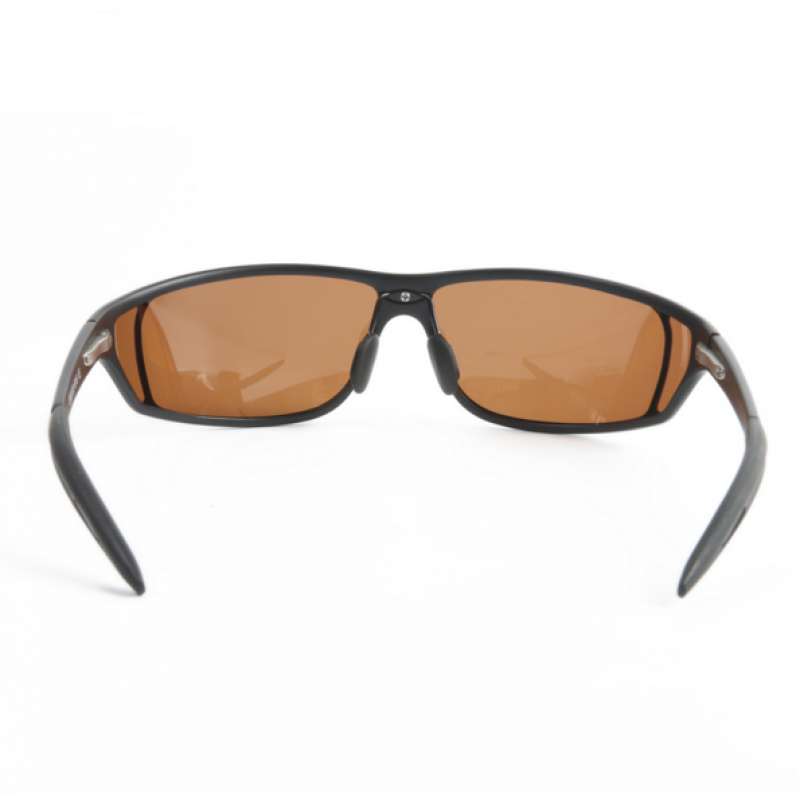 Adjustable Polarized Titanium Fishing Sunglasses Outdoor Glasses Brown
