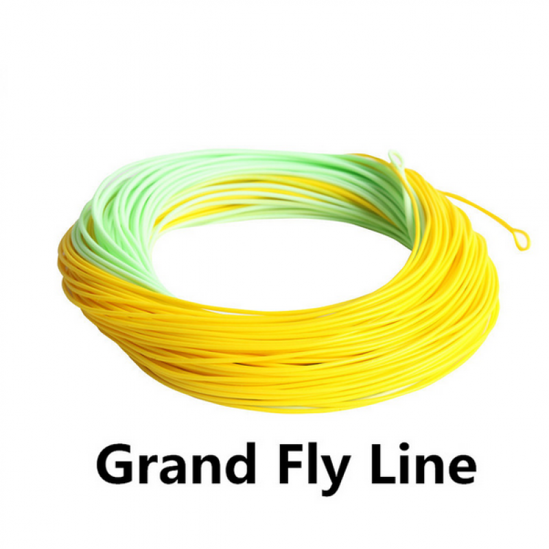 Grand line Double Color Weight Forward Floating with Two Exposed Loops for Fast Action
