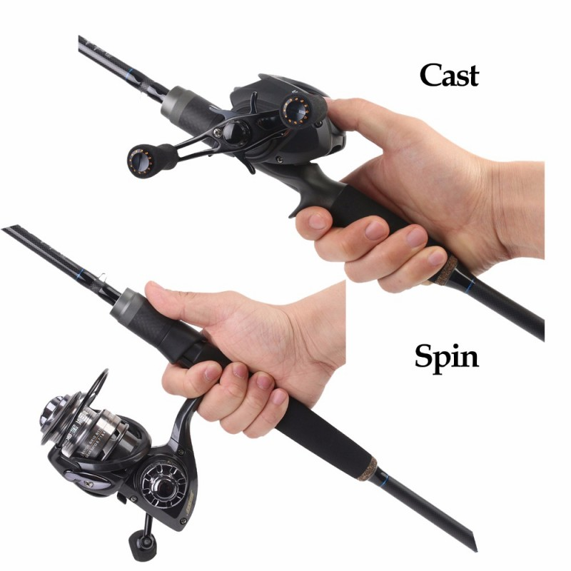 Black Star Spinning Casting Rod 2.1M/7' Rod