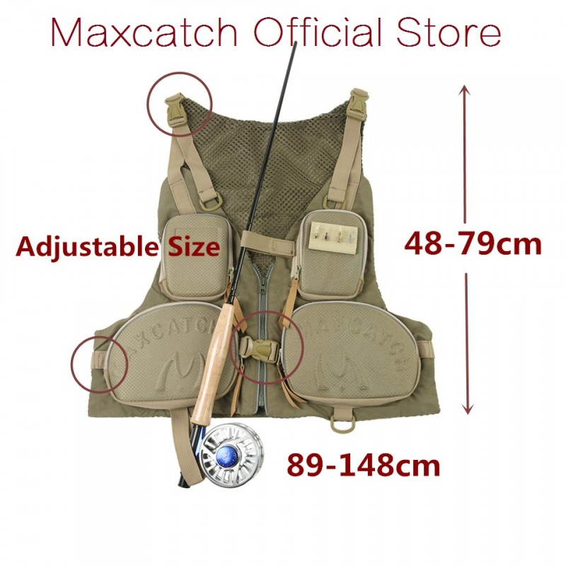 Outdoor Quick-dry Fishing Vest Fly Super Light Adjustable General Size