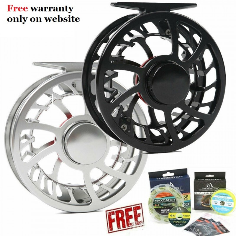HVC Super Light Large Arbor Aluminum Fly Reel