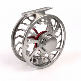 Exclusive Super Light CNC Machine Cut Large Arbor Aluminum Fly Reel (Lifetime Warranty)