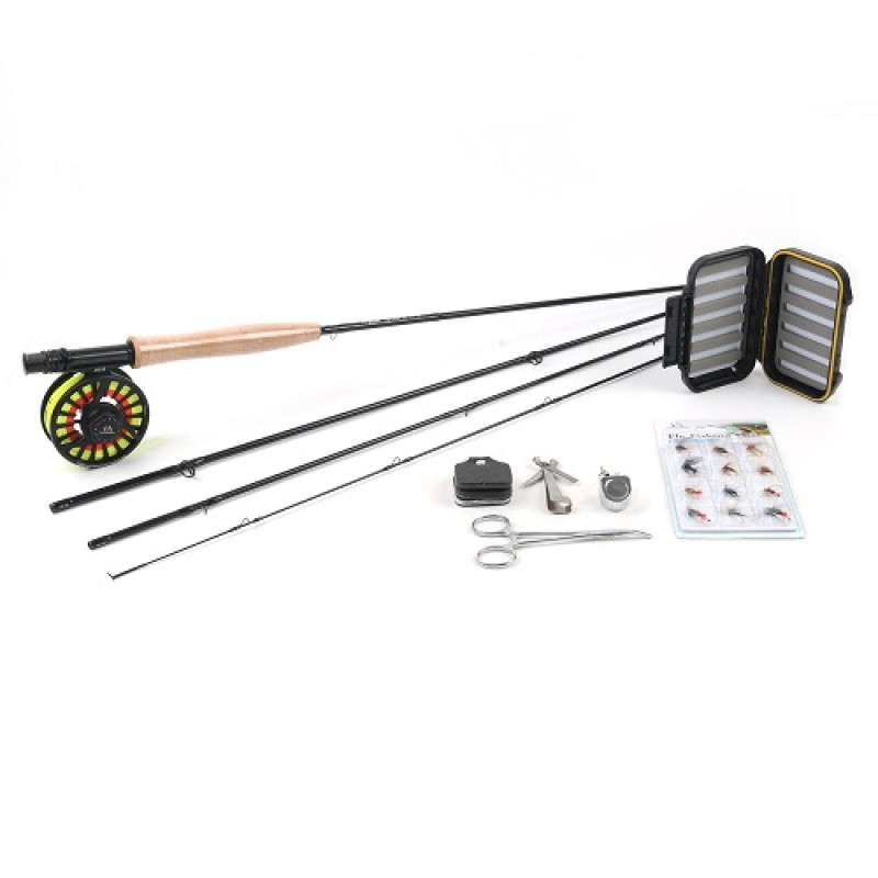 Black Star fly rod+AVID fly reel combo