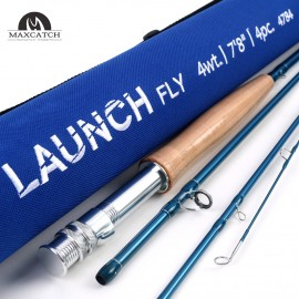 [Clearance]Exclusive Light 7'8'' #4WT Launch Fly Rod