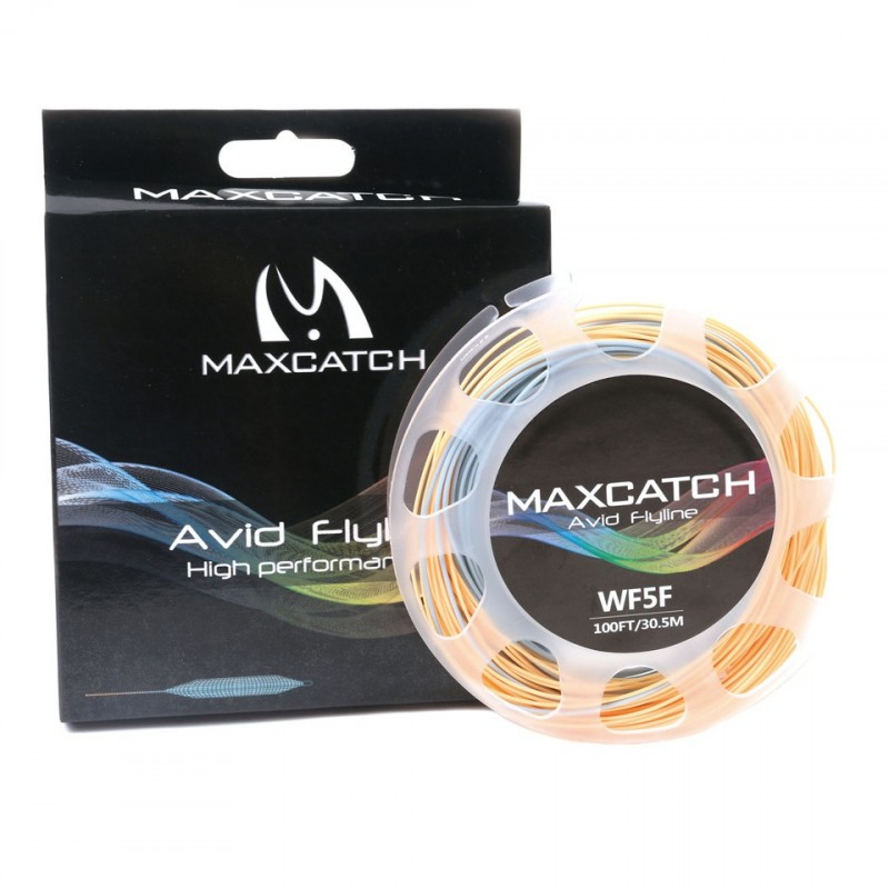 100FT 5WT Weight Forward Floating Fly Line With Loops With Box And Line Spool