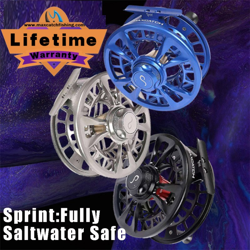 1 Sprint Heavy Duty Saltwaterproof Competition Reel