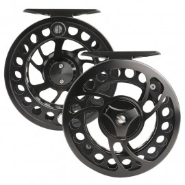 ML 5/7 Fly Fishing Reel 5/7WT CNC Machina Cut Large Arbor Aluminum Fly Reel