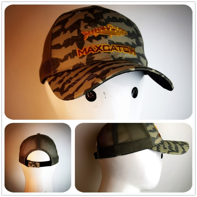 Outdoor Functional Vintage Mesh Fishing Cap