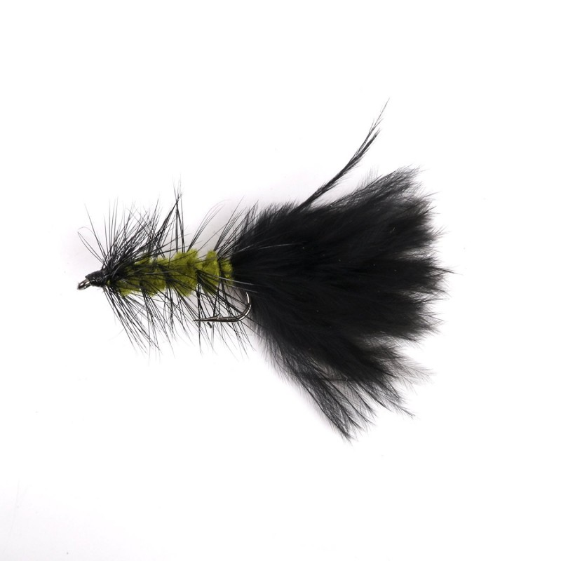 Professional fly fishing  Wooly buggers flies