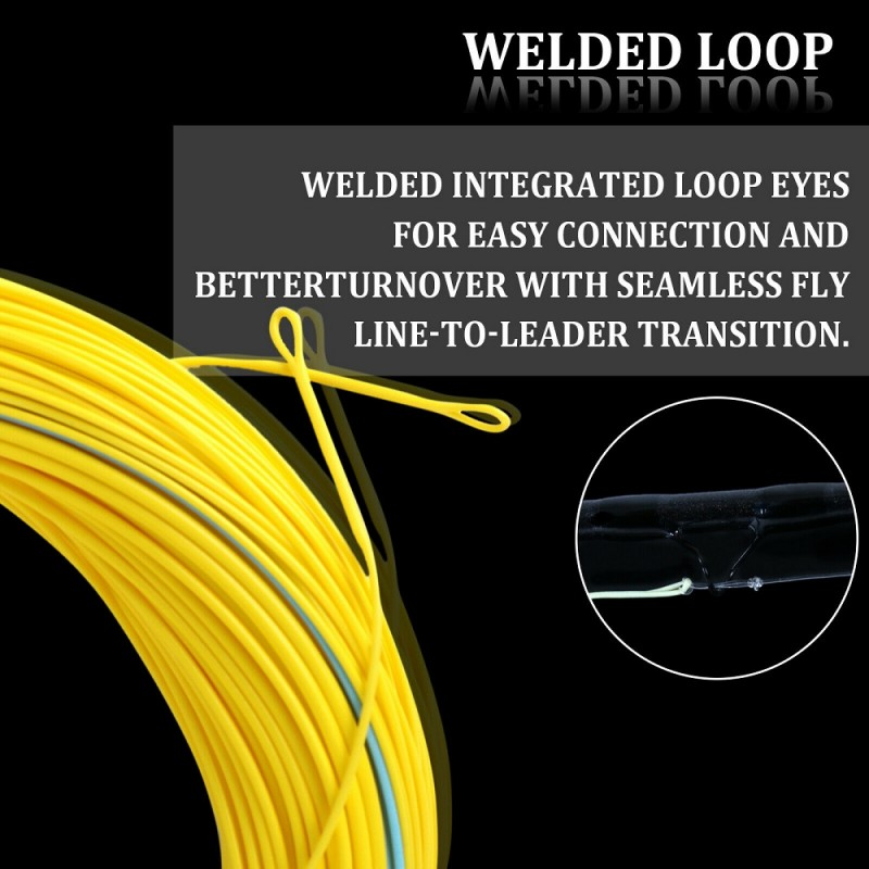 Spey Weight Forward Floating Fly Line With Two Welded Loops