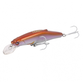 NOEBY NBL9447 Minnow 80mm/24.5g Fishing Lures Sinking0.3-1.0m Leurre Dur Peche Hard Baits Souple Shad with France VMC hook