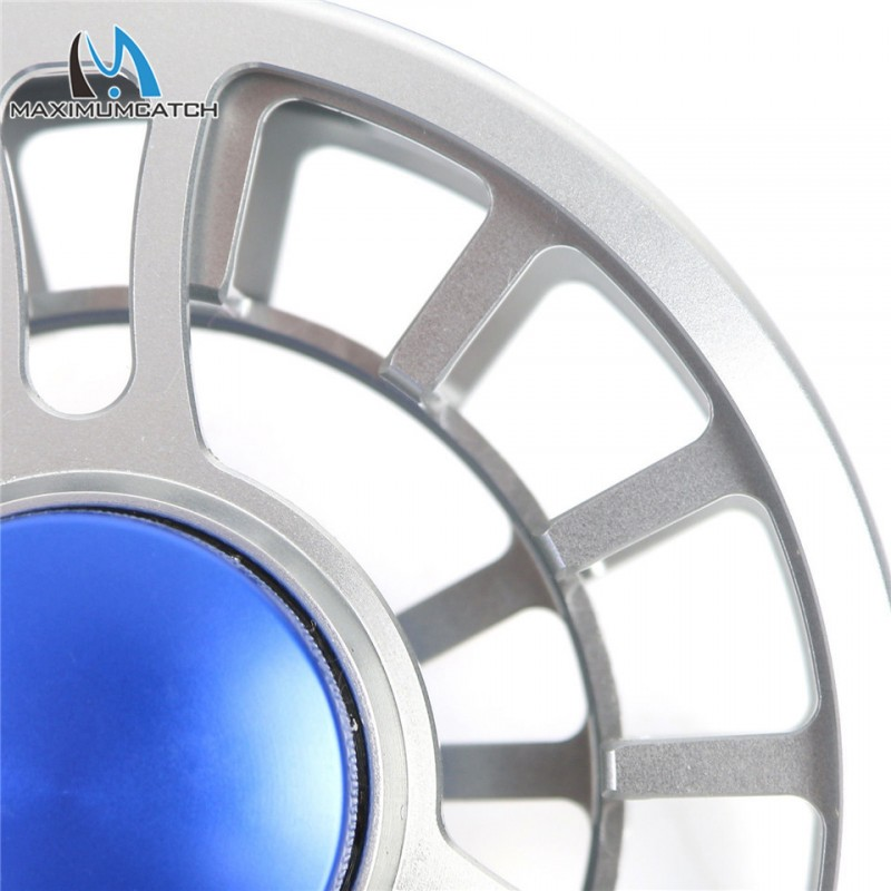 NVC 3/4/5/6/7/8WT Fly Reel CNC Machined Aluminum Fly Fishing Reel Right or Left-Handed Fishing Reel