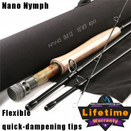 Nano Nymph Professional Euro Nymphing Rod<Lifetime Warranty>
