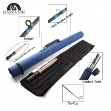 1 Champion Design Competition NANO A-Helix Core Carbon Fast Action Fly Rod<Lifetime  Warranty>