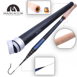 Tenkara Fly Fishing Mini Kit -  Telescopic Tenkara Nano Fly Rod, Line & Carbon Tube
