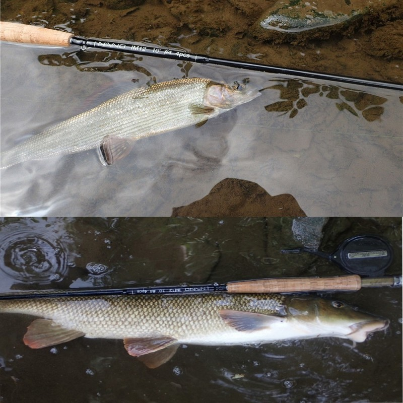 Nano Nymph Professional Euro Nymphing Fly Rod<Lifetime Warranty>