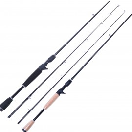 "Casting Rod 6'6""/6'9"" 2PCS Fishing Rod Baticasting Rod (Lure Weight:1/4-1oz)"