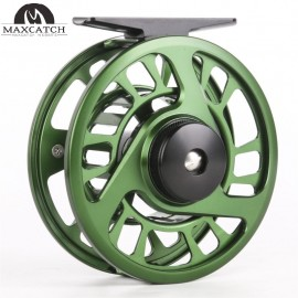 Spare Spool Olive Green Panfish Fly Fishing Reel
