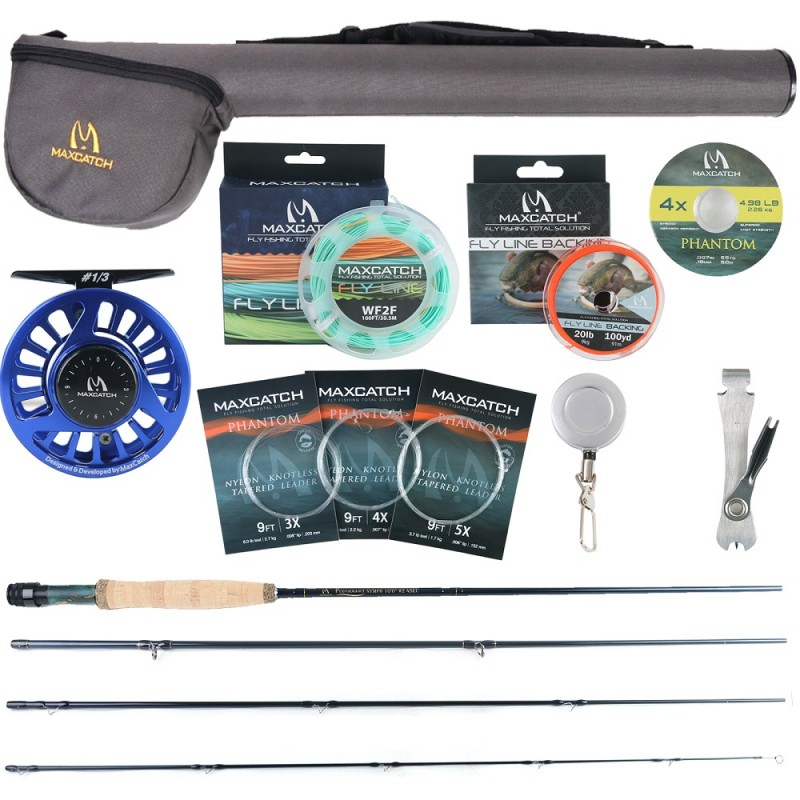 Nymph Fly Rod and Reel Whole Combo