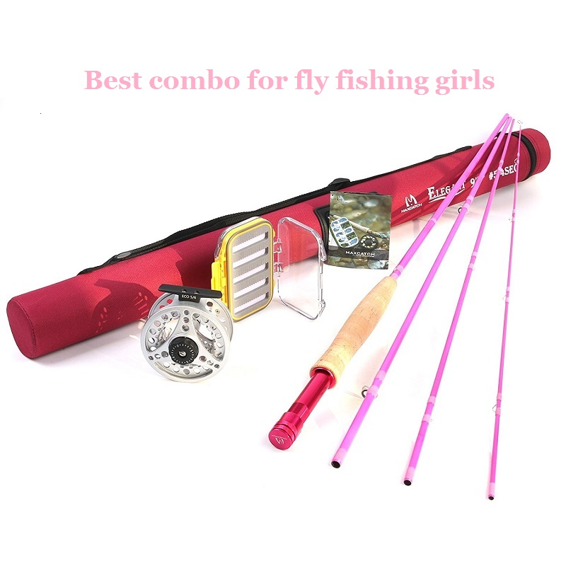 Women's Elegant Fly Fishing Rod Combo