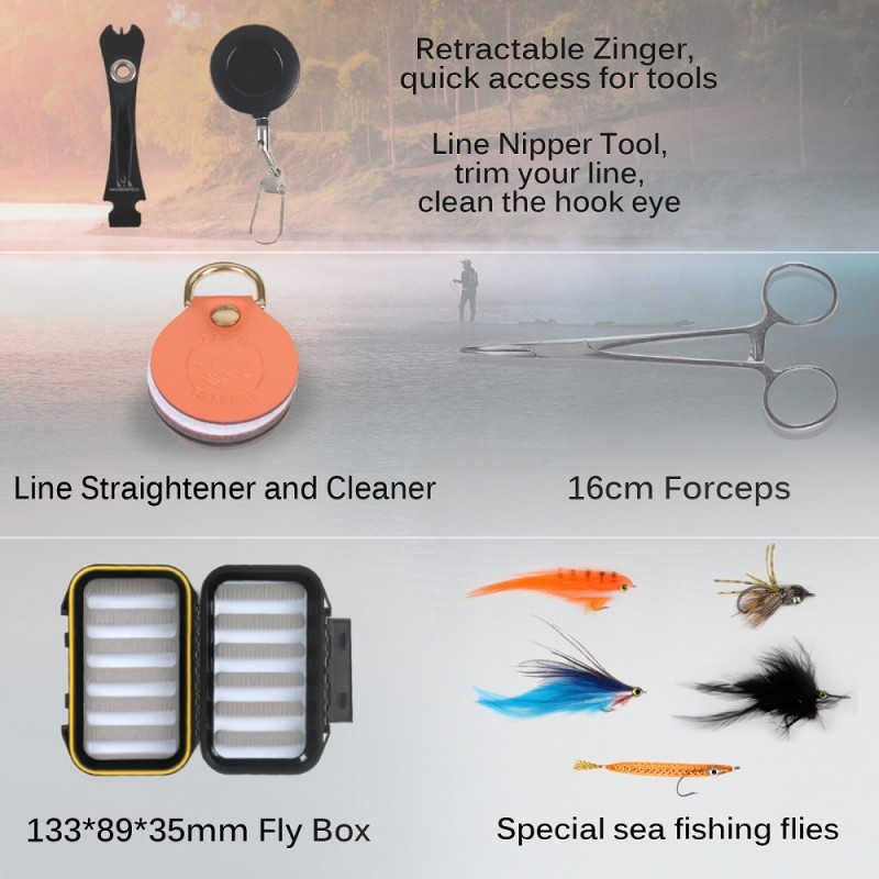 Fully Saltwater Safe Fly Fishing Combo /Outfits