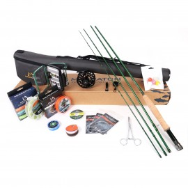 Premier Fly Fishing Rod Reel Combo Complete 9FT Fishing Outfit