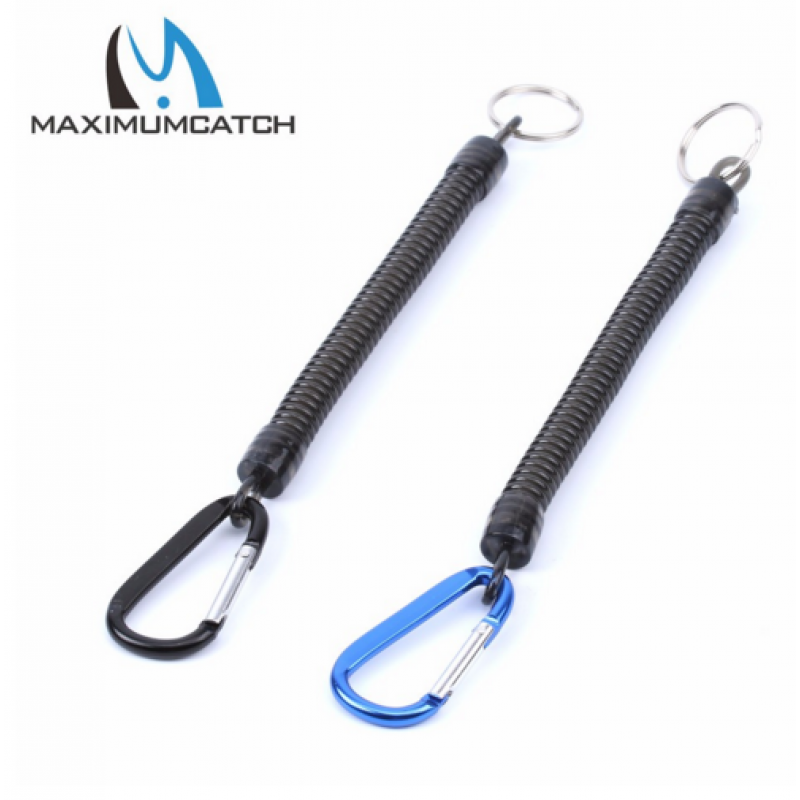 Maxcatch 2pcs/lot Black or Blue Fishing Tool Fly Fishing Lanyard Fishing Ropes Fishing Tackle Box Tool