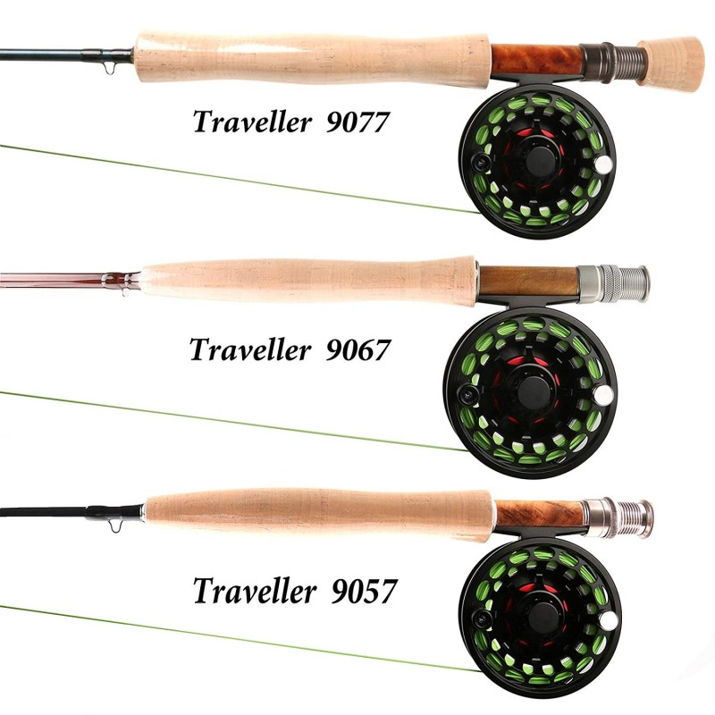 Sensing Traveller Full-well Fly rod with Cordura tube