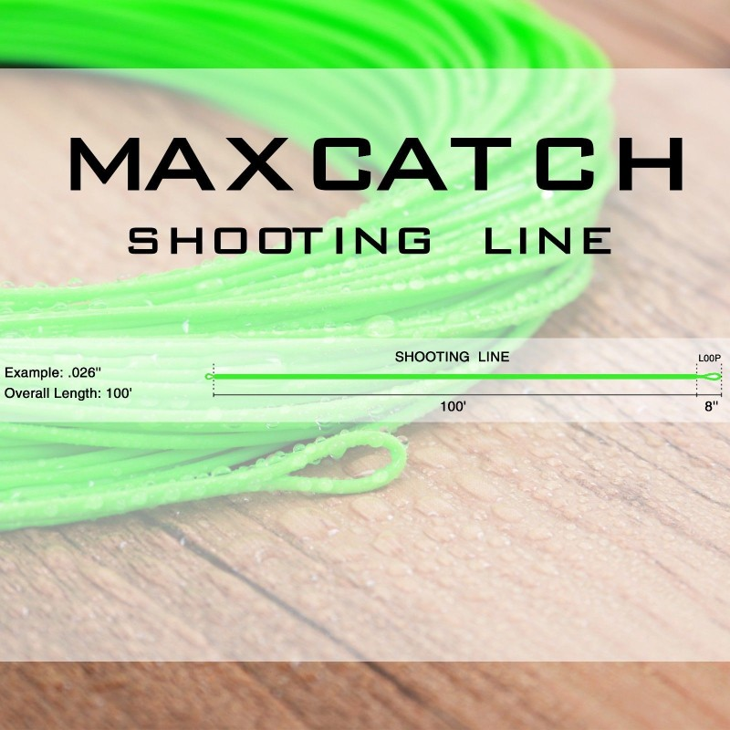Shooting Line/Running Line Floating, 0.026'' 0.032'' 0.037'' 0.042''