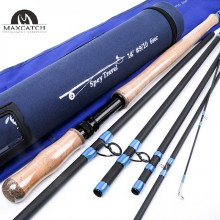 Spey Travel 8/9/10WT Fly Rod 13FT/14FT 6Pieces Spey Medium-fast Carbon Fly Fishing Rod & Rod Tube